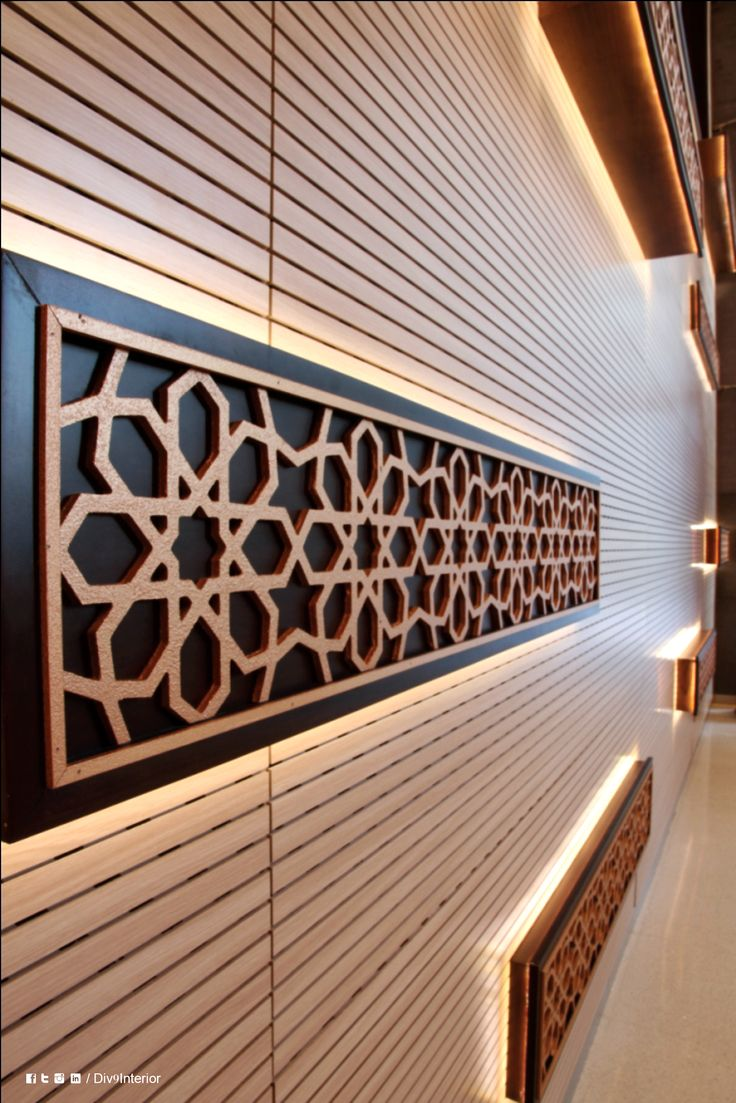 Latifa Tower Dubai Interior Wall Design Architecture