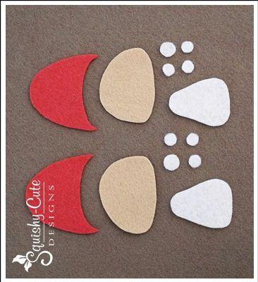 felt mushroom, mushroom sewing pattern, free sewing pattern, woodland plushie…