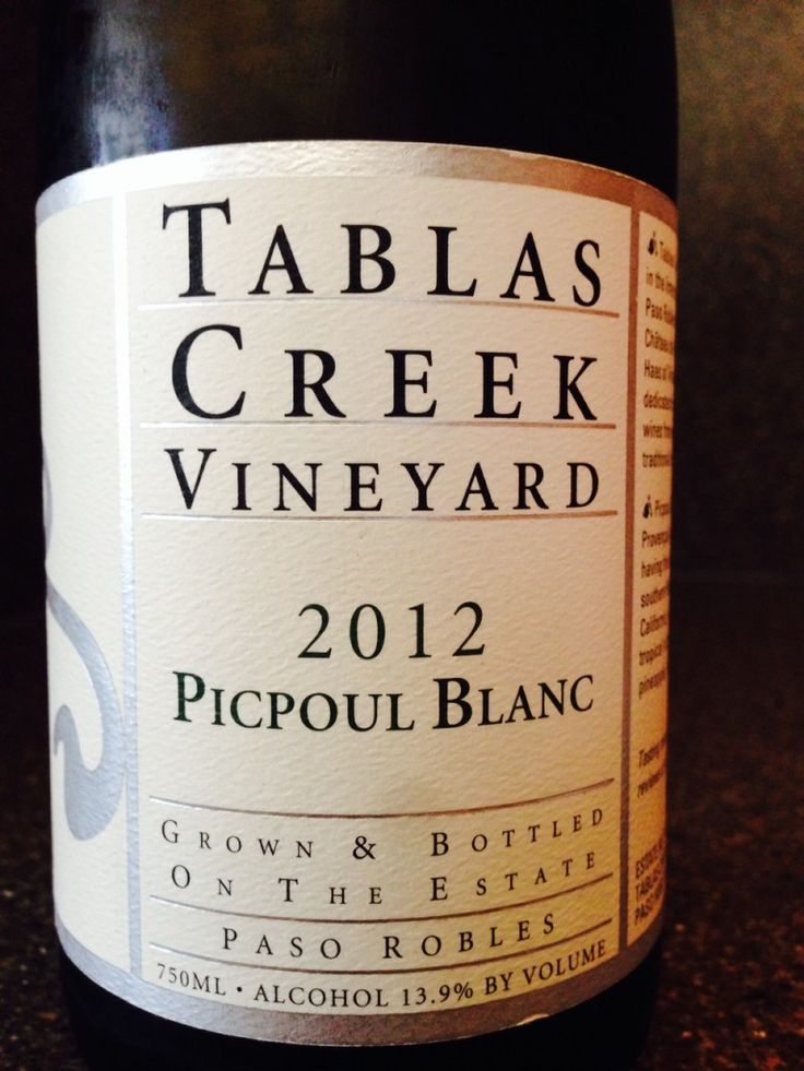 Definitely need to try this one from Tablas Creek. via Martin Redmond's #winePW post.