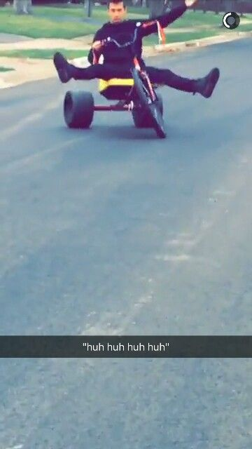 TØP THEY KEPT THE FRICKING TRICYCLES OMFG (source: josh duns snapchat)