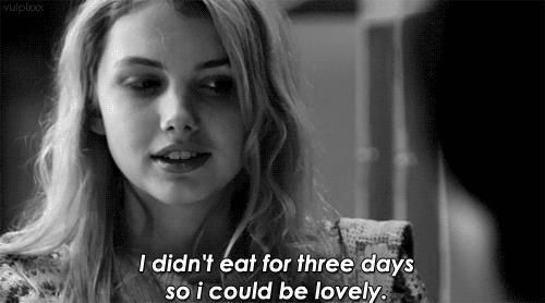 I wanted to be lovely