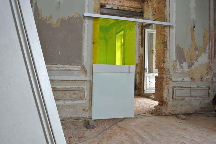 17 meilleures id es propos de porte coulissante verre - Portes coulissantes en verre sur mesure ...