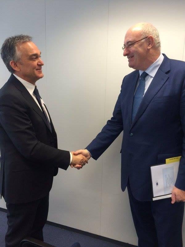 6/4/2016 Bruxelles. Pane Toscano festeggia la DOP alla UE