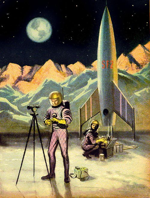 Space surveying.