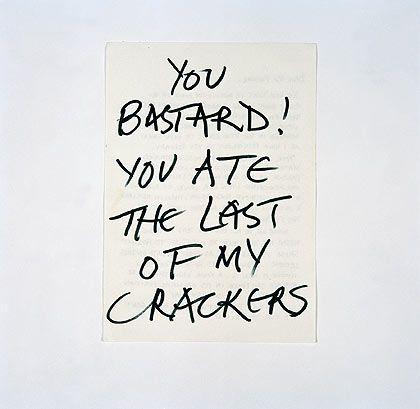 Keith Arnatt - Last of My Crackers