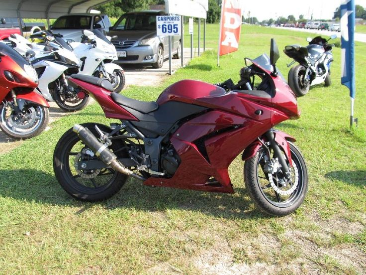 Check out this 2008 Kawasaki EX 250R Ninja listing in Garner, NC 27529 on Cycletrader.com. It is a Sportbike Motorcycle and is for sale at $2995.