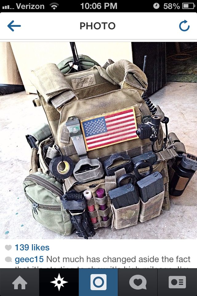 Chest rig LBT Plate carrier