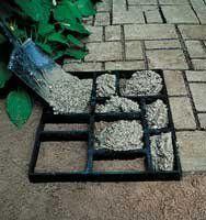 Amazon.com: Pathmate Concrete Stepping Stone Molds, Belgium: Patio, Lawn & Garden