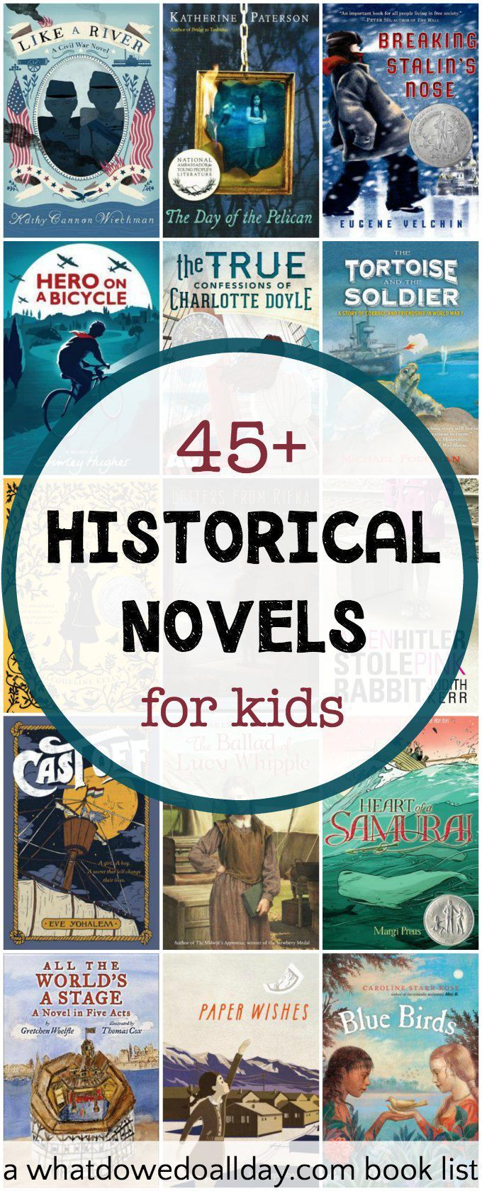 45+ Thrilling Historical Fiction Books For Kids
