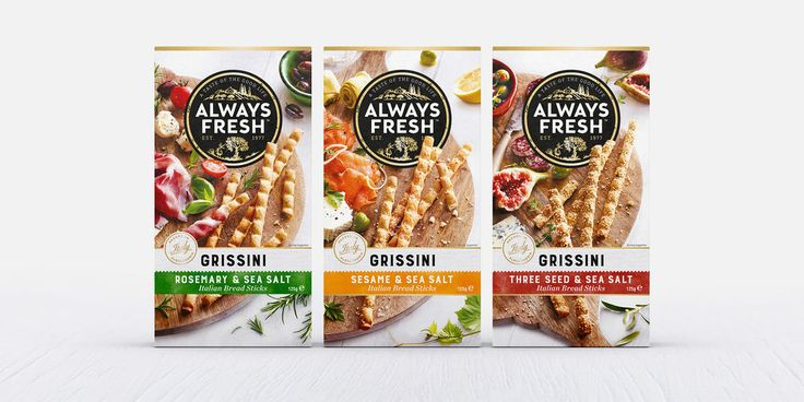 Boxer & Co.were briefed to revitalize the Always Fresh brand and its…