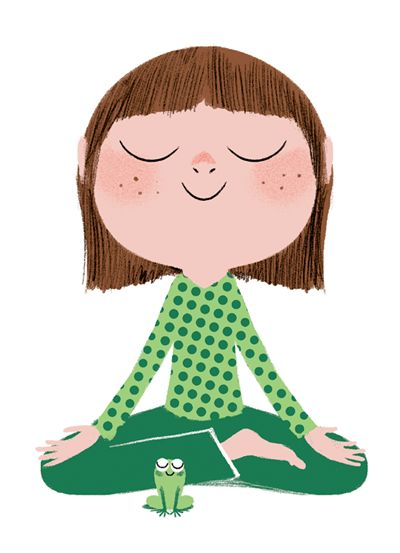 Sitting Still Like a Frog. Mindfulness Exercises for Kids (and Their Parents) Repinned by Apraxia Kids Learning. Come join us on Facebook at Apraxia Kids Learning Activities and Support- Parent Led Group.