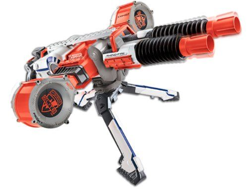 Nerf Rhino Fire Review | Nerf Gun Attachments