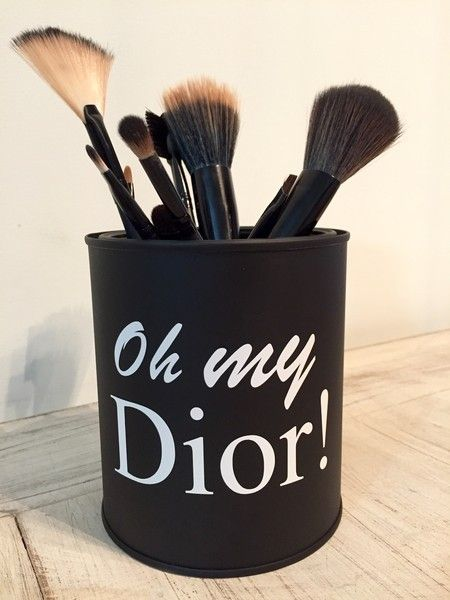 Porta pincéis Oh my Dior! - Ateliê Laço Rosa                                                                                                                                                                                 Mais