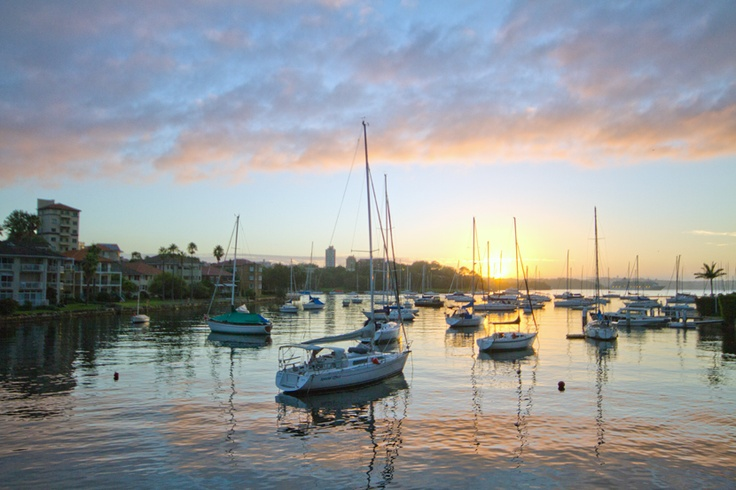 Sunrise in Kirribilli, Sydney