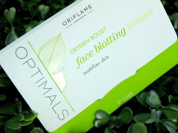 240₽: отличные Матирующие салфетки для лица Оптимальное Очищение - Oriflame Optimals Oxygen Boost Face Blotting Tissues