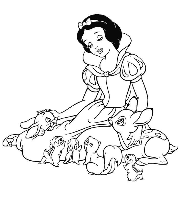 15 simple coloriage blanche neige pictures  disney