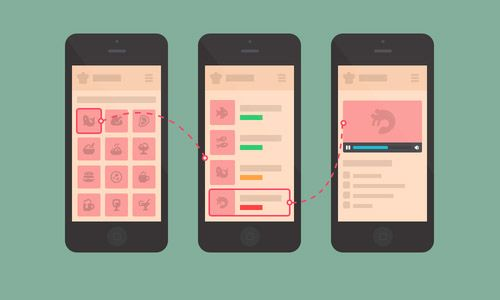 mobile UI music buttons pink - Google zoeken