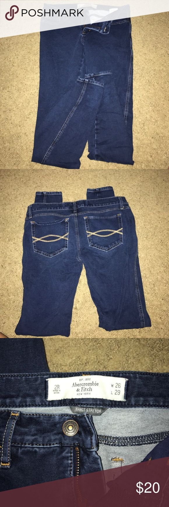 Abercrombie and Fitch Jeans Legging/Jeans Abercrombie and Fitch size 2R Abercrombie & Fitch Jeans Skinny