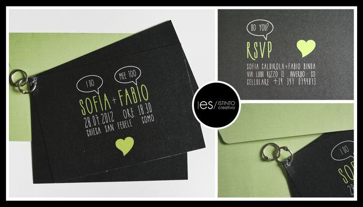 #invite #wedding #weddinginvite #partecipazioni © es istinto creativo