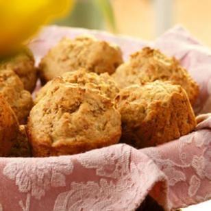 Savory Prosciutto Muffins Recipe #Recipe