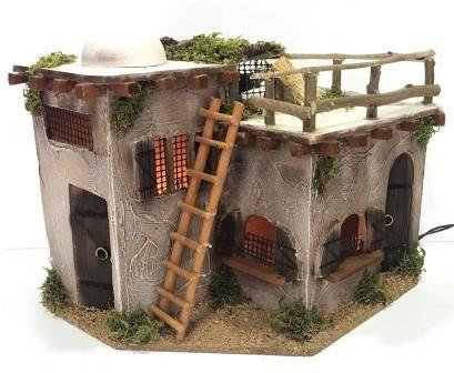 Casas-Morunos : 1007-Moruno con palomar