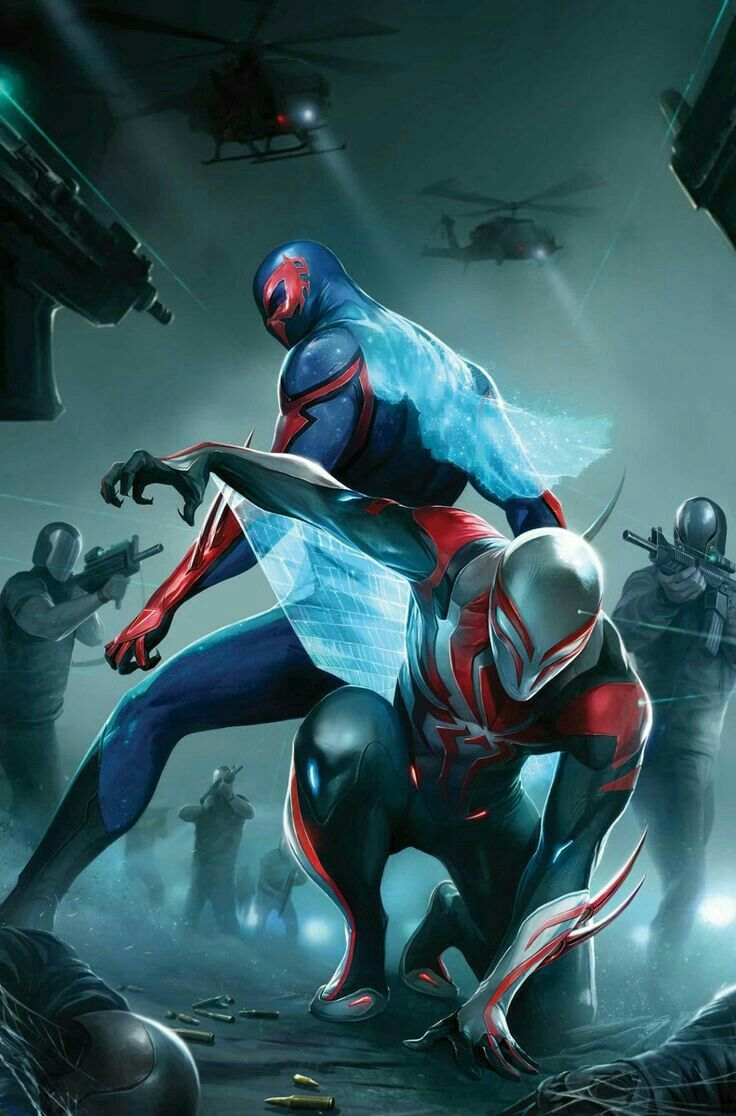 Marvel Comic Book Artwork • Spider-man 2099. Follow us for more awesome comic art, or check out our online store www.7ate9comics.com