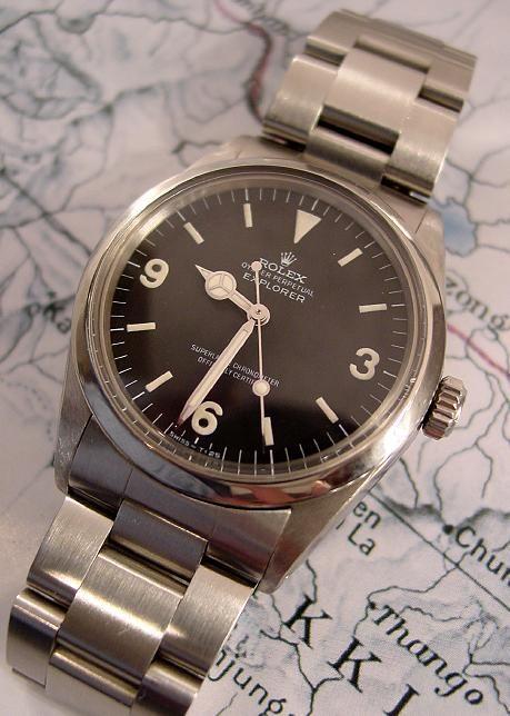 Vintage Rolex Explorer (1969) #watch - men's fashion style
