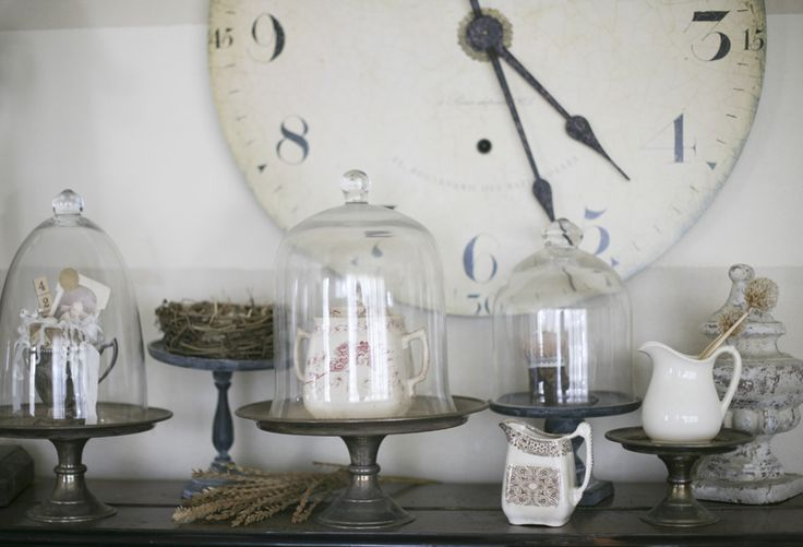 cloche inspiration: Birds Nests, Glasses Domes, Cloche Ideas, Bird Nests, Cake Stands, Glasses Cloche, Matter Ideas, Altered Cloche, Cakes Stands