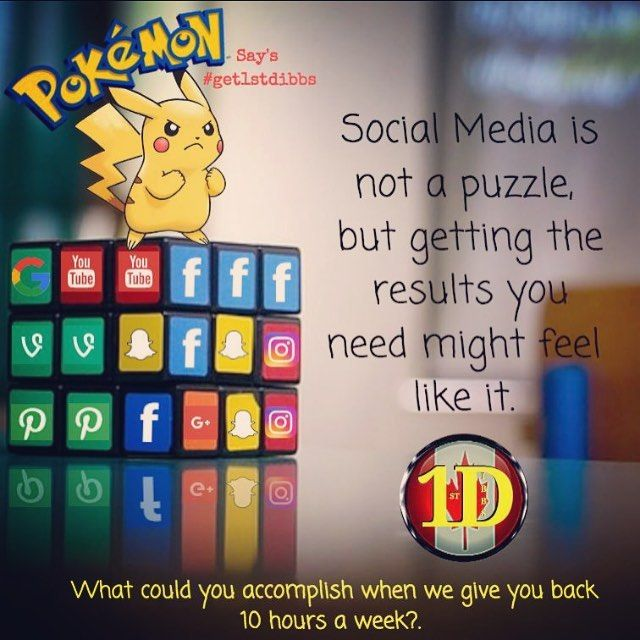 Social media has changed there is no doubt, it's not like it used to be to get…