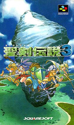 Seiken Densetsu 3 (Square), Super Famicom; Legend of the Holy Sword 3 is an action RPG developed & published by Square (now Square Enix) as a part of the Mana series. plays very much like its predecessor Secret of Mana, as it employs a real-time combat system.