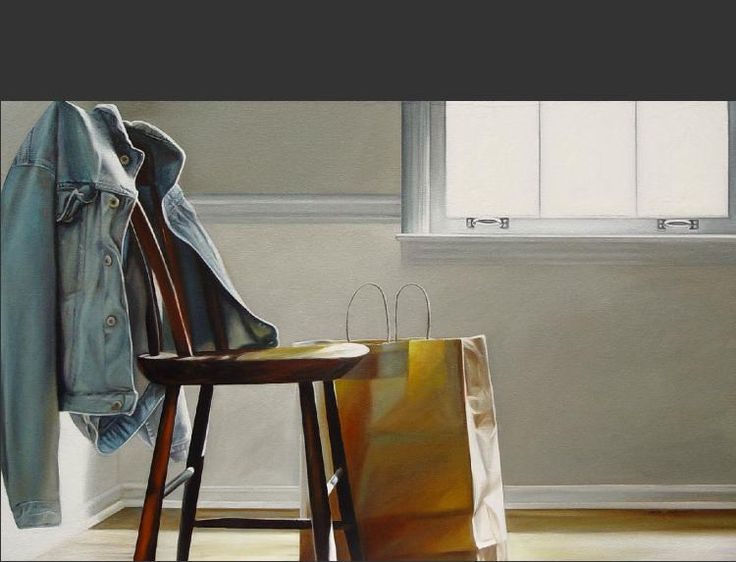 Denim Jacket | 30 x 48 | oil on canvas. 2008