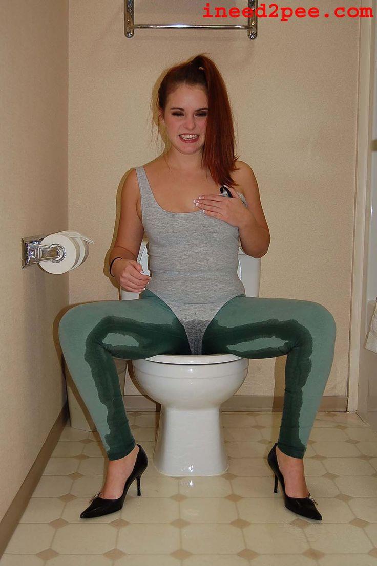 Teen girls peeing in panties