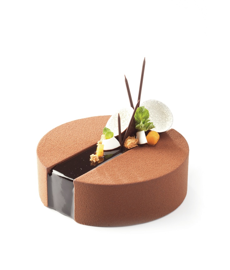 Noir Chocolat entremet