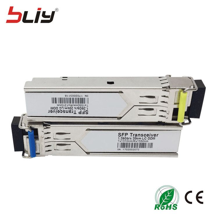 <Click Image to Buy> 10 pcs LC 20KM 1.25G mini GBIC SFP SMF DDM WDM BIDI  gigabit fibra optic SFP module compatible with Cisco/TP-link/Mikrotik *** Detailed information can be found on  AliExpress.com. Just click the image #CommunicationEquipment