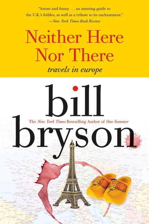 To keep yourself busy on the flight, bury yourself in the hilariously charming descriptions of Europe as seen through the eyes of Bill Bryson. He pores over all the sights and people of the countries he passes through with his signature dry wit, painting them in caricature—terrible Italian drivers and smoking Frenchmen,etc.  Neither Here Nor There: Travels in Europe, $11; amazon.com.