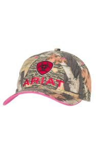 Ariat Women's Camo with Cherry Embroidered Logo Cap | Cavender's