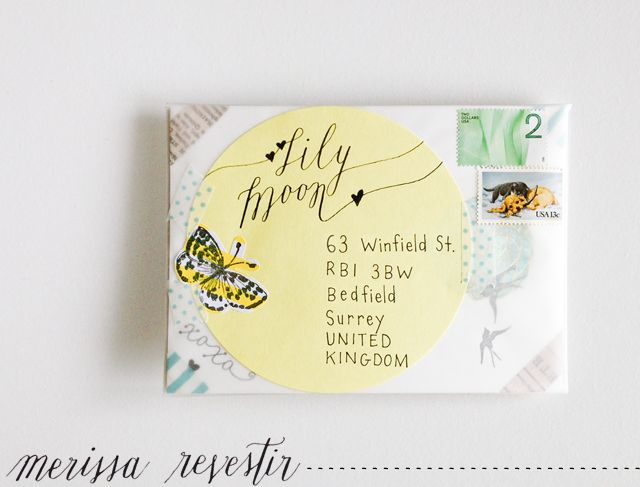 The Happy Mail Project: From Merissa to Lily ♥