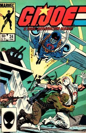 G.I. Joe Marvel Comics Issue# 24