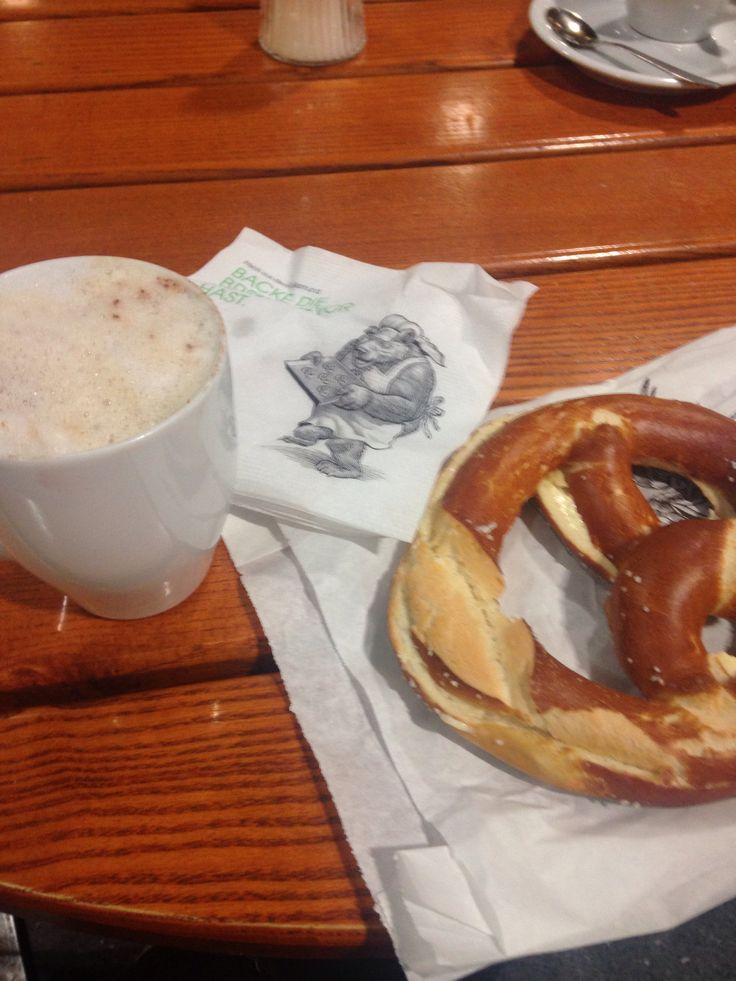 When in vaguely German places (Zurich) I am obliged to eat a pretzel.
