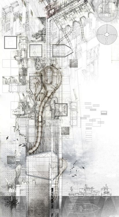 a.Architectural render – Hand Drawn/Painted/other Design