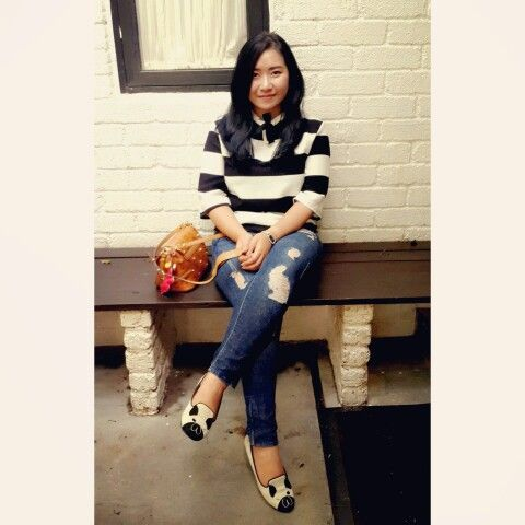 Pairing Stripes, Ripped and Matilda