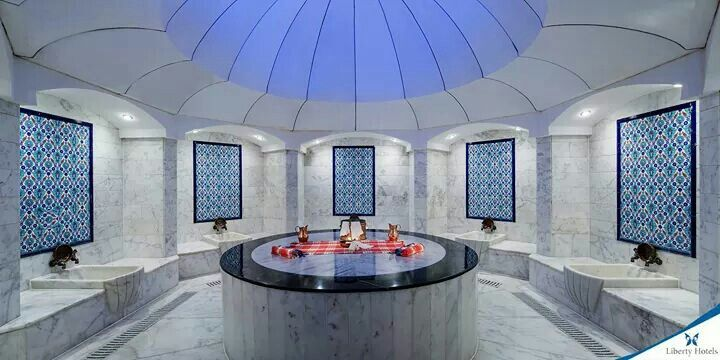 Feel like a Sultan or Princess whilst relaxing in our authentic `Ottoman style` Hamam