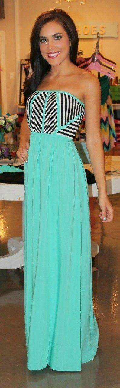 Mint Tribal Maxi Dress                                                                                                                                                                                 More