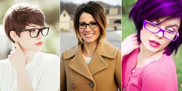 Γυναίκες με κοντά μαλλιά και γυαλάκια με στυλ!