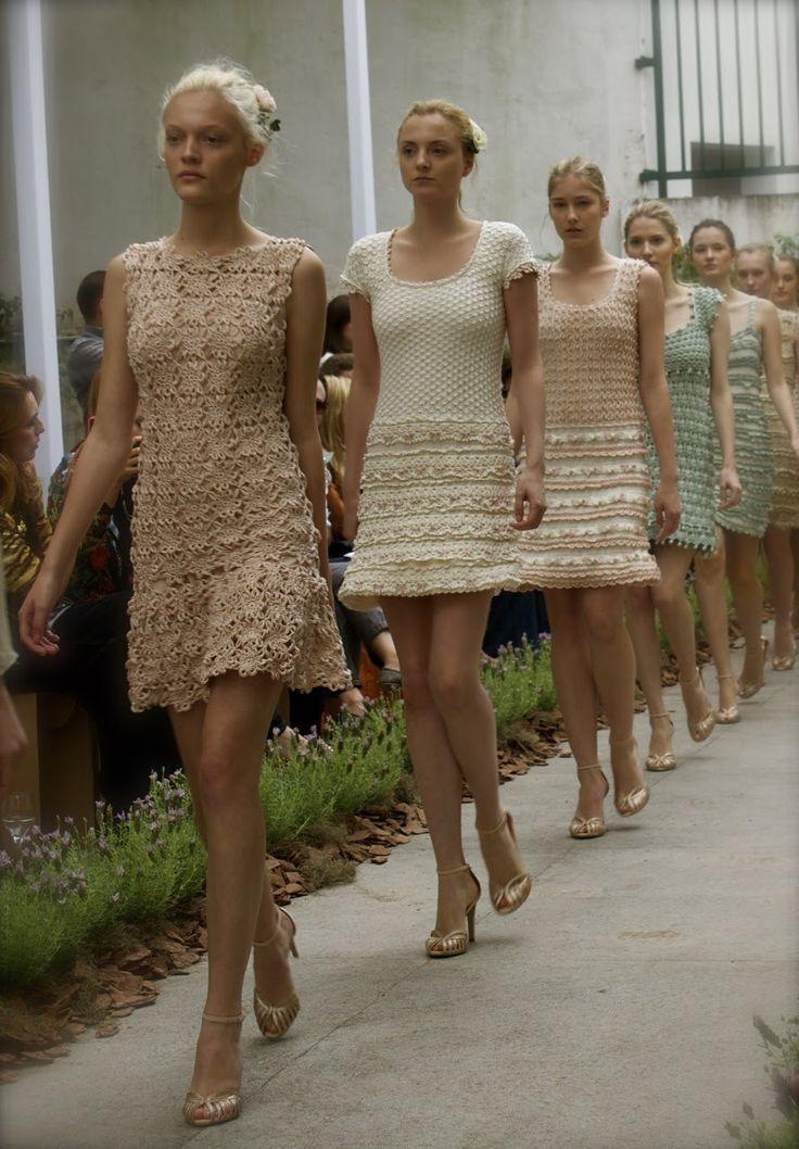Crochetemoda: Vanessa Montoro - Summer Collection 2013