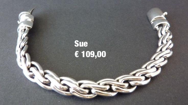 Zilveren Armband sue