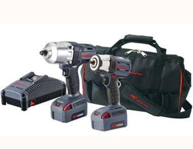 Ingersoll Rand IQV 20 Volt Double Trouble Cordless Impact Kit Feature..Price: $666.00