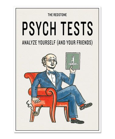 Another great find on #zulily! The Redstone Psych Tests Hardcover #zulilyfinds
