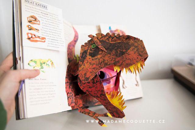 Madame Coquette: do knihovničky / mistrovská pop-up kniha Dinosaurs...
