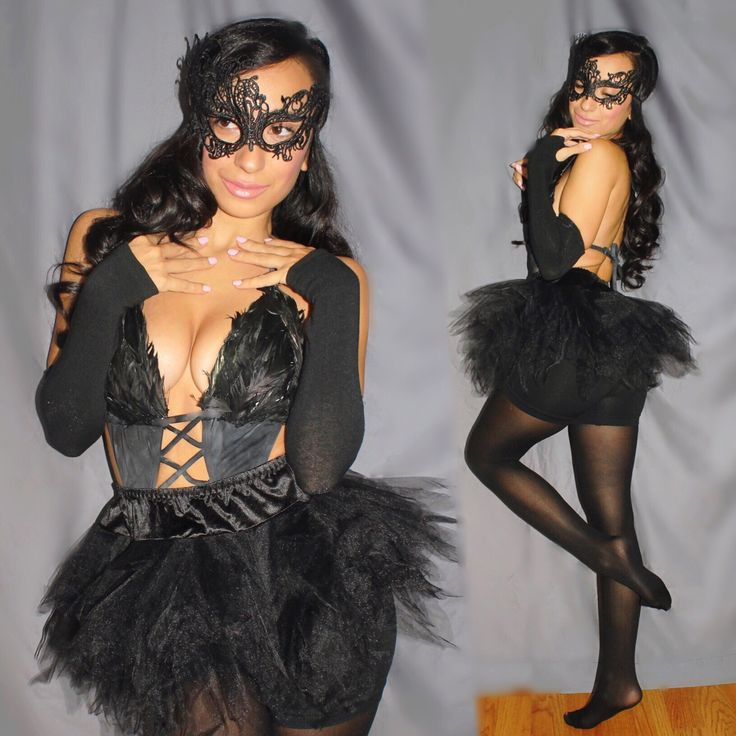 Halloween 2016 Unique one of a kind custom made Black Swan costume - DIY. See Instagram account : @clothesyourcustomeyes